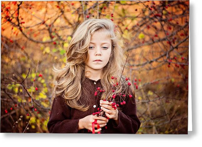 Autumn Greeting Cards - Untitled Greeting Card by Elitza Guntcheva