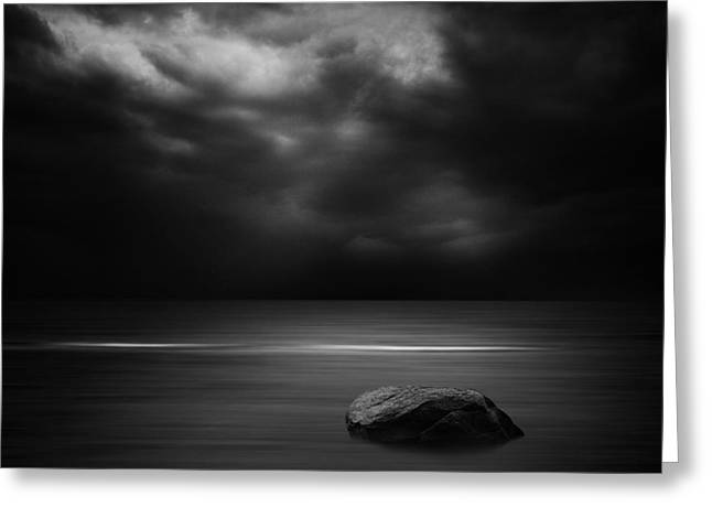 Stones Photographs Greeting Cards - Untitled Greeting Card by Kaspars Kurcens