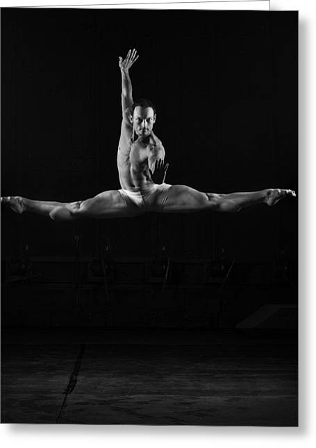 Ballet Greeting Cards - Untitled Greeting Card by Michael Groenewald