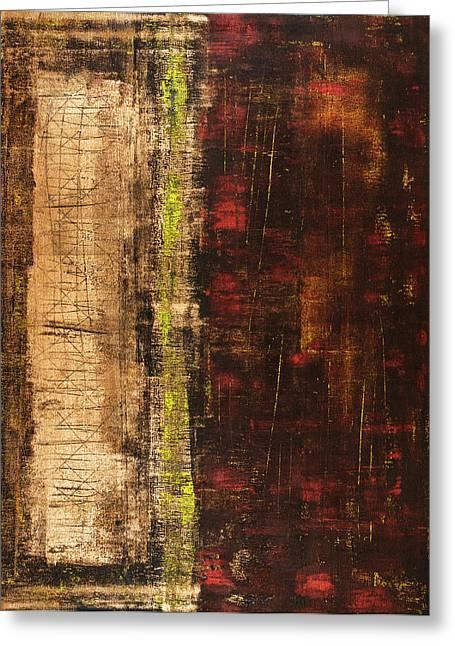 Rustic Colors Greeting Cards - Untitled No. 13 Greeting Card by Julie Niemela