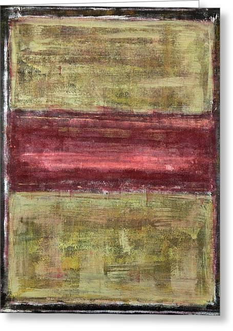 Untitled No. 21 Greeting Card by Julie Niemela