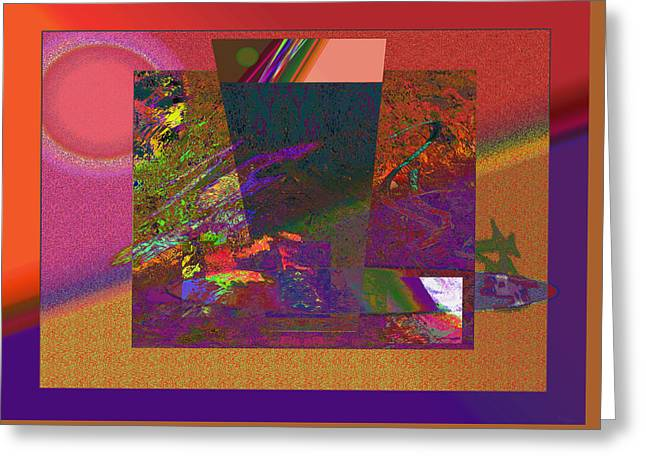 Visionary Artist Greeting Cards - Compound Mystery Greeting Card by Bob  Eige