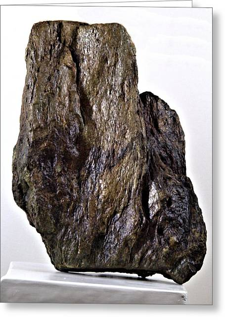 Print Sculptures Greeting Cards - Untitled Stone Greeting Card by John Feiser