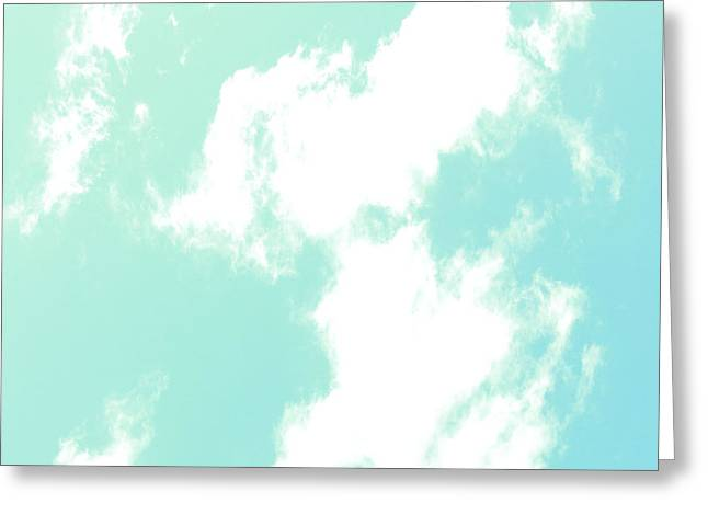 Purchase Greeting Cards - Up Amongst the Clouds Greeting Card by Linda Ritlinger