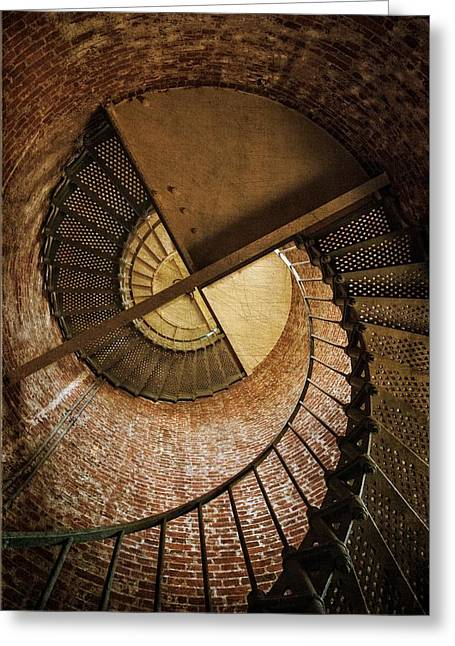 Top Seller Greeting Cards - Upward Greeting Card by Ken Smith