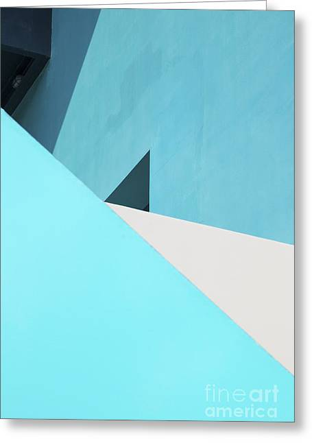 Geometric Design Greeting Cards - Urban Abstract 3 Greeting Card by Elena Nosyreva