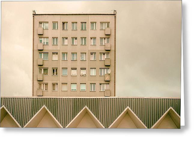 Architectur Greeting Cards - Urban Architectur Greeting Card by Klaus Lenzen