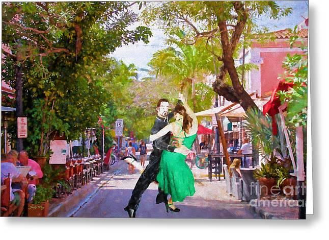 Latin Greeting Cards - Urban Dancers Edition 2 Greeting Card by Judy Kay