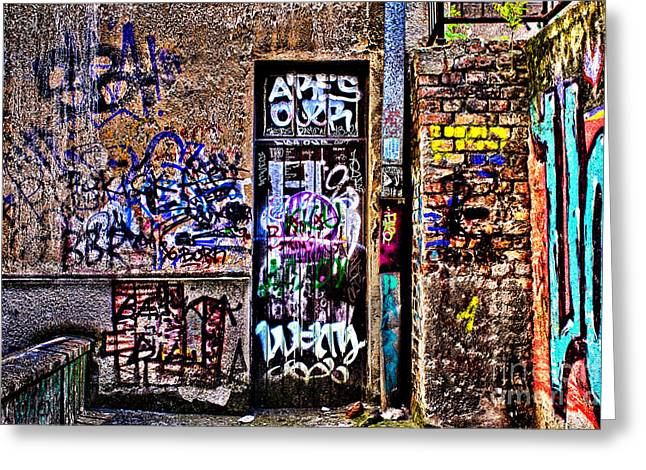 Serbs Greeting Cards - Urban Decay Belgrade Europe Greeting Card by Milan Karadzic