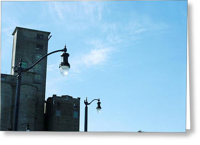 Light Pole Greeting Cards - Urban Light  Greeting Card by Gothicolors Donna Snyder