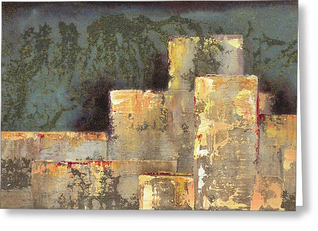 Urban Renewal II Greeting Card by Shadia