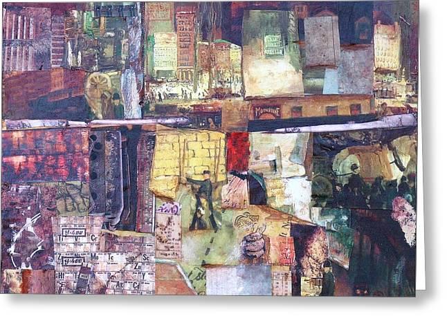 Sienna Greeting Cards - Urban Renewal Greeting Card by Judy Tolley