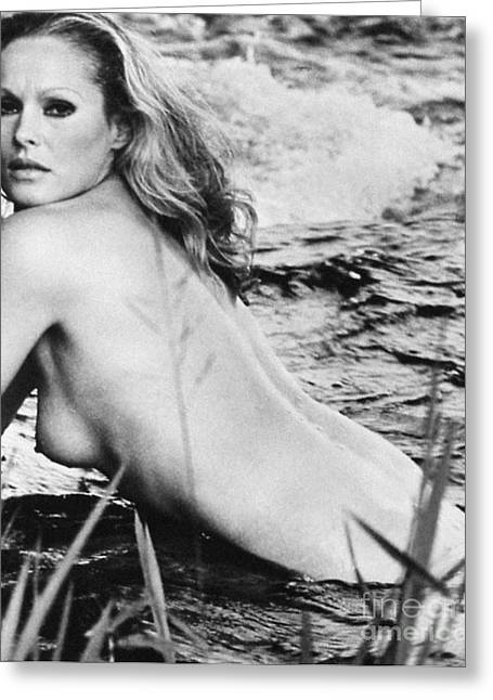 Starlet Photographs Greeting Cards - URSULA ANDRESS (b. 1936) Greeting Card by Granger