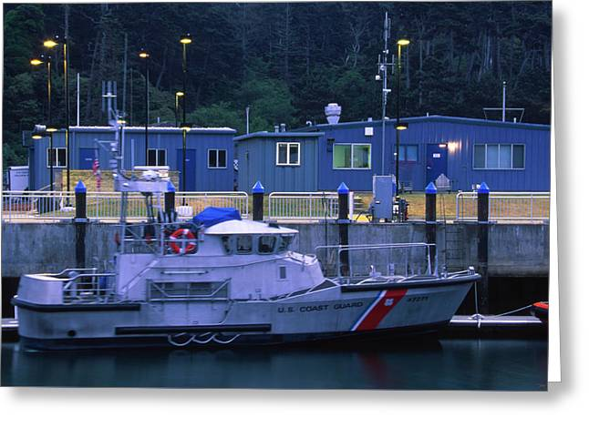 U.s. Coast Guard - Fort Bragg California Greeting Card by Soli Deo Gloria Wilderness And Wildlife Photography