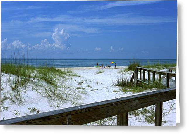 St. George Island Greeting Cards - Usa, Florida, Gulf Of Mexico, St Greeting Card by Panoramic Images