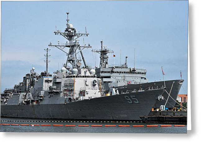 Christopher Holmes Greeting Cards - USS James E. Williams DDG-95 Greeting Card by Christopher Holmes