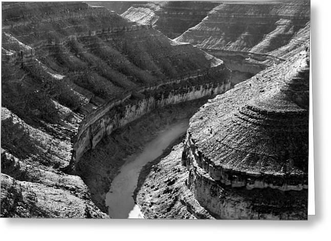 White River Digital Greeting Cards - Utah Outback 15 Greeting Card by Mike McGlothlen