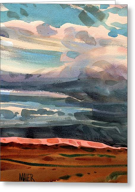 Skyscape Greeting Cards - Utah Sky Greeting Card by Donald Maier