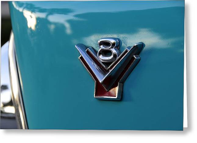 Antic Car Greeting Cards - V 8 Greeting Card by David Lee Thompson