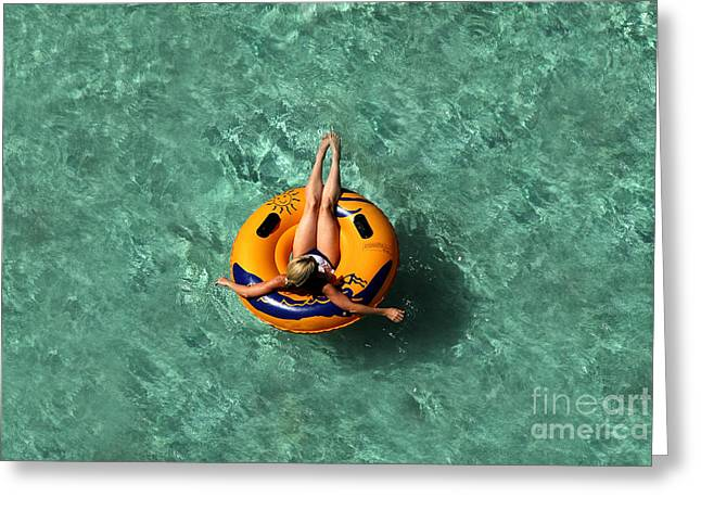 Vacation Greeting Card by David Lee Thompson