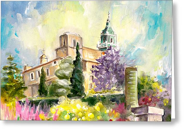 Lemon Art Drawings Greeting Cards - Valldemossa 03 Greeting Card by Miki De Goodaboom