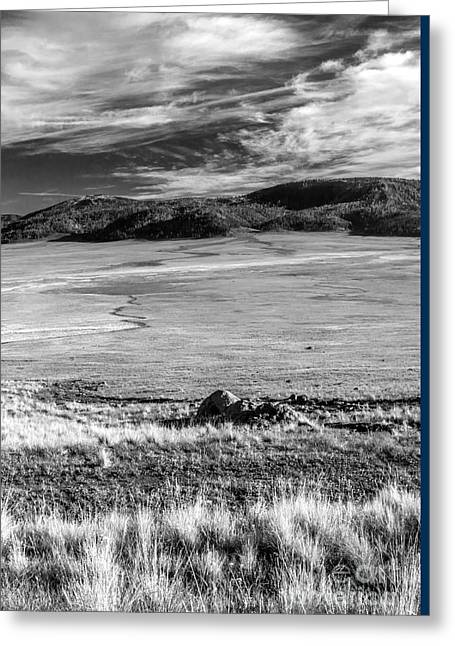 Valles Caldera  Greeting Card by Roselynne Broussard