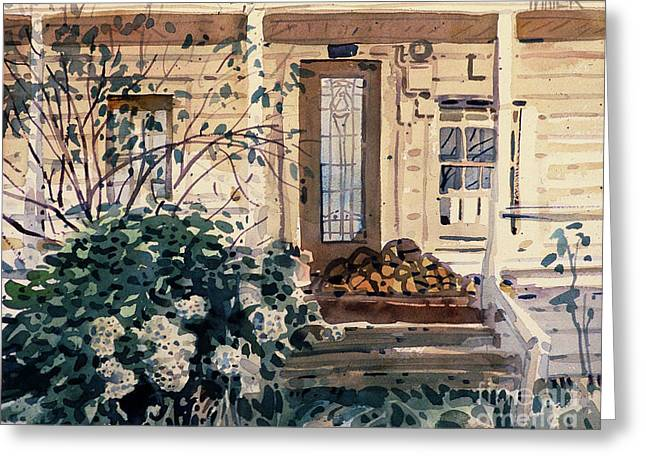 Sonoma County Greeting Cards - Valley Ford House Greeting Card by Donald Maier