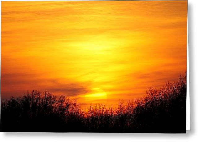 Valley of the Sun Greeting Card by Frozen in Time Fine Art Photography