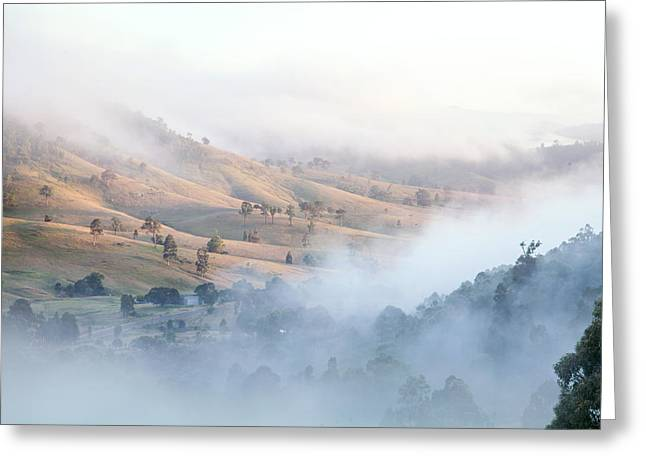 Valley Of Whispers Greeting Card by Az Jackson
