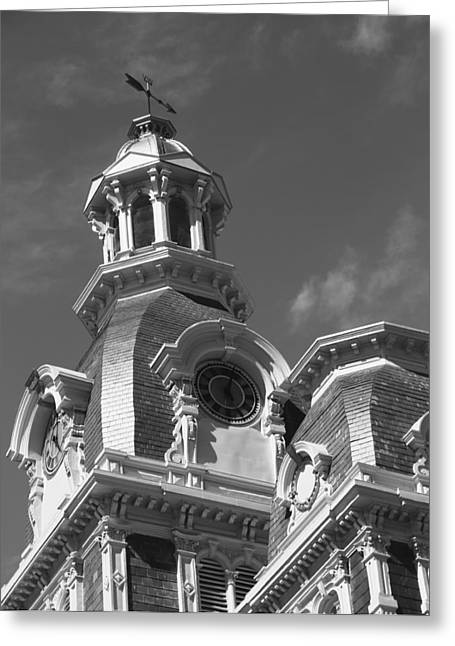 Indiana Photography Greeting Cards - Van Wert County Courthouse Greeting Card by Dan Sproul