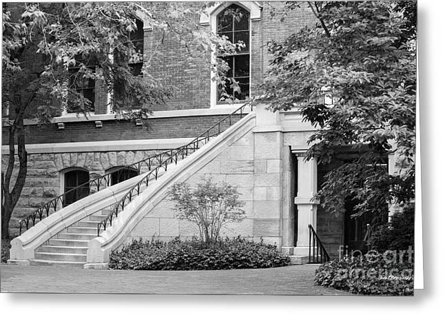 Civil Greeting Cards - Vanderbilt University Stairway Greeting Card by University Icons