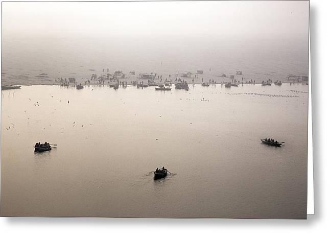 Varanasi - India Greeting Card by Joana Kruse