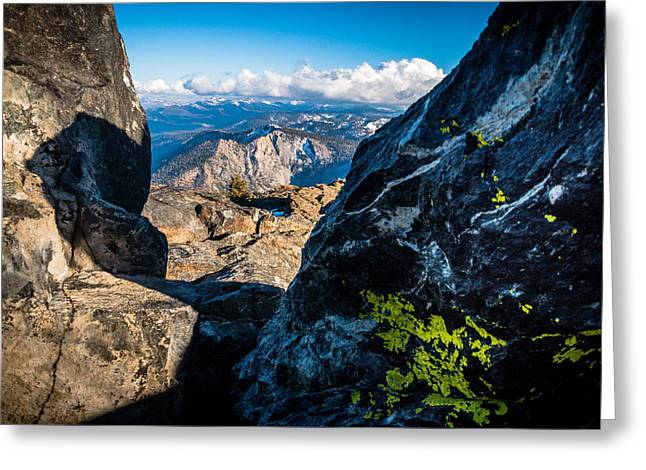 Vastly Majestic High Sierras Greeting Card by Mike  Herron