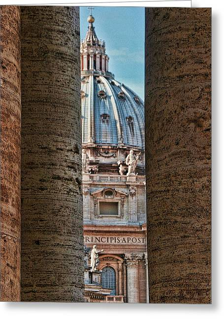 The Vatican Greeting Cards - Vatican Greeting Card by Tom Prendergast