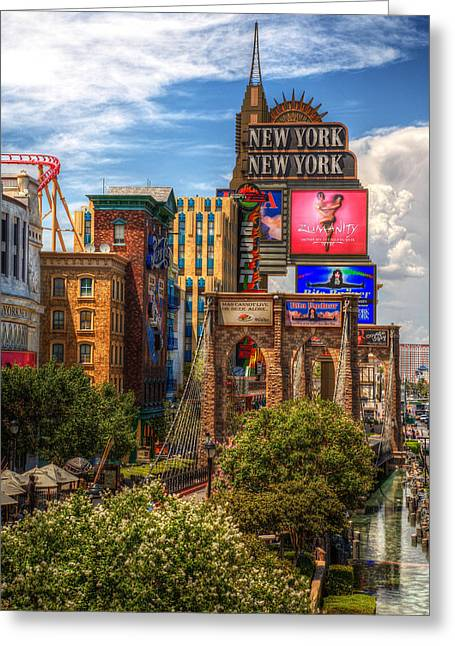 James Marvin Phelps Greeting Cards - Vegas Baby Greeting Card by James Marvin Phelps