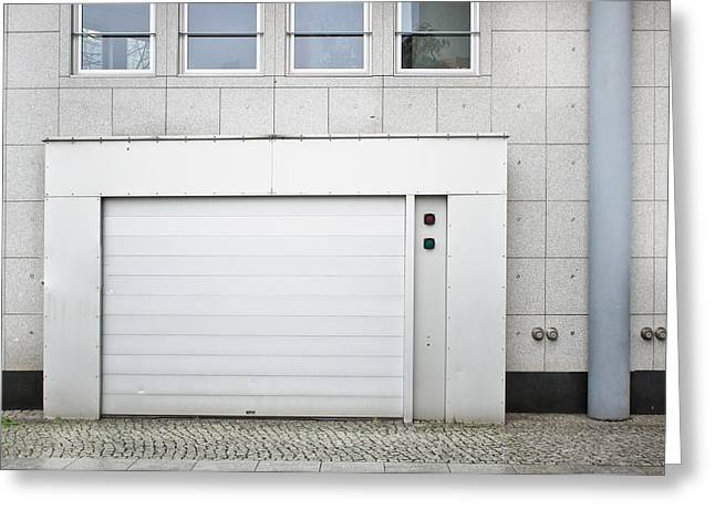 Vehicle Entry Door Greeting Card by Tom Gowanlock