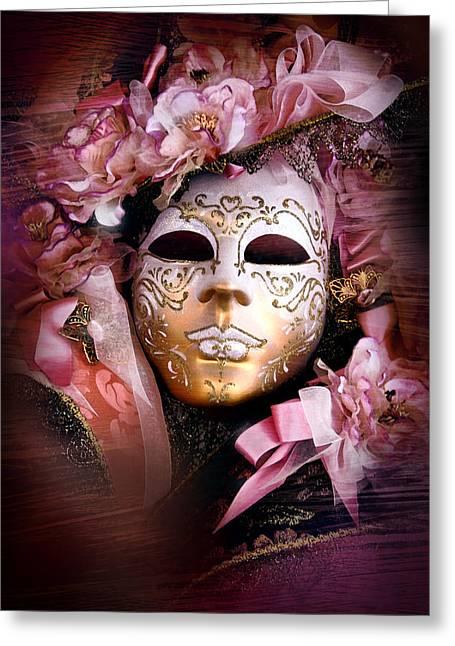 Venetian Mask Greeting Card by Warren Home Decor