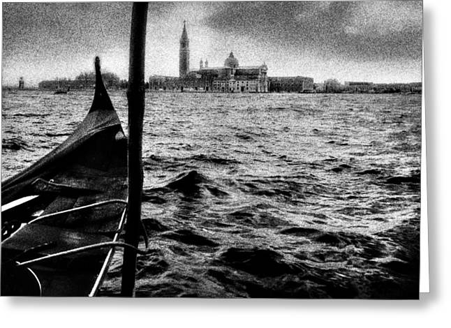 Infrared Greeting Cards - Venezia  Greeting Card by Sergio Bondioni