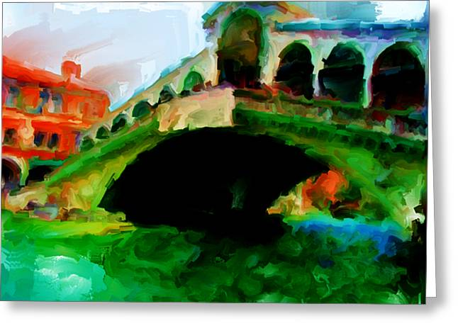 Lateran Greeting Cards - Venice 2a Greeting Card by Brian Reaves