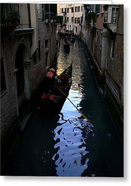 Valeriy Mavlo Greeting Cards - Venice-3 Greeting Card by Valeriy Mavlo