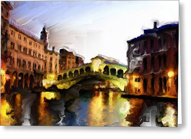 Lateran Greeting Cards - Venice 3a Greeting Card by Brian Reaves