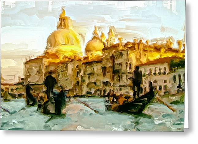 Lateran Greeting Cards - Venice 4a Greeting Card by Brian Reaves