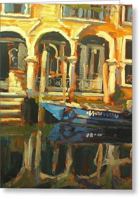 Venice Greeting Card by Brian Simons