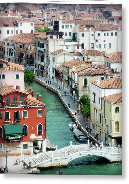 Northern Italy Greeting Cards - Venice City of Canals Greeting Card by Julie Palencia