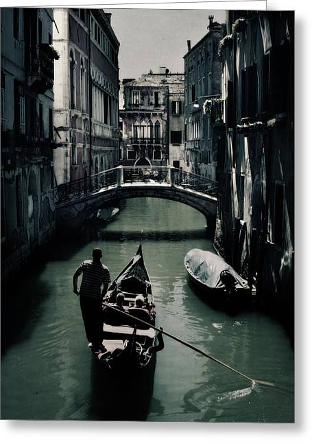 Venice II Greeting Card by Cambion Art