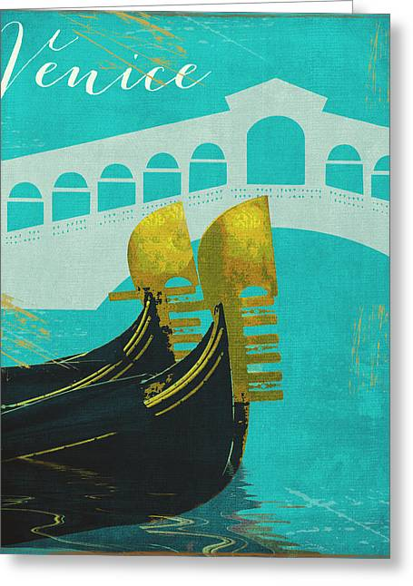 Rialto Bridge Greeting Cards - Venice Greeting Card by Mindy Sommers