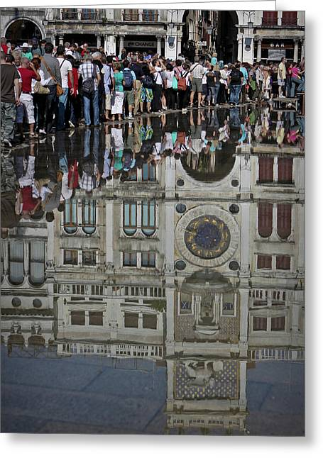 Italy Greeting Cards - Venice Parade Greeting Card by Patrick English