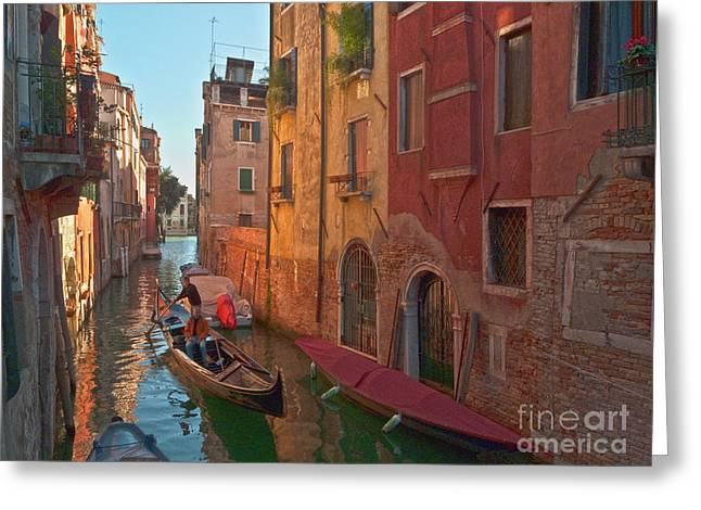 Venice Sentimental Journey Greeting Card by Heiko Koehrer-Wagner