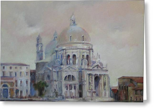 Venice Greeting Card by Tigran Ghulyan