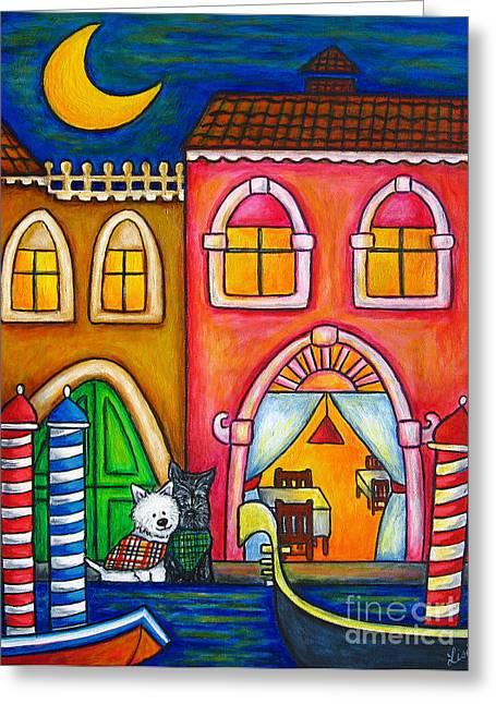 Venice Valentine Greeting Card by Lisa  Lorenz